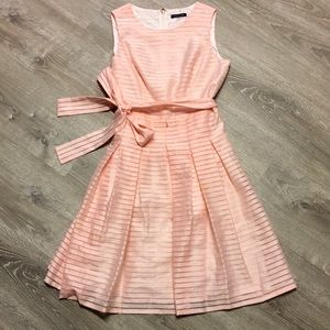 Tommy Hilfiger Pink Stripe Dress Size 6